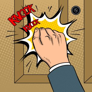 knock on manager door